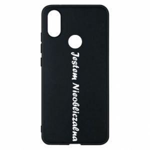 Phone case for Xiaomi Mi A2 I'm Unpredictable - PrintSalon