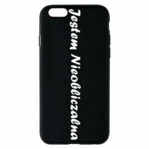 Phone case for iPhone 6/6S I'm Unpredictable - PrintSalon
