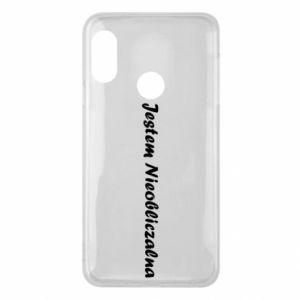 Phone case for Mi A2 Lite I'm Unpredictable - PrintSalon