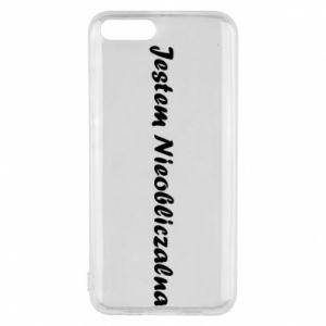 Phone case for Xiaomi Mi6 I'm Unpredictable - PrintSalon