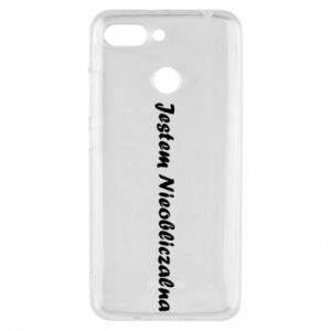 Phone case for Xiaomi Redmi 6 I'm Unpredictable - PrintSalon