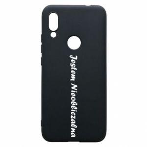 Phone case for Xiaomi Redmi 7 I'm Unpredictable - PrintSalon