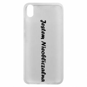 Phone case for Xiaomi Redmi 7A I'm Unpredictable - PrintSalon