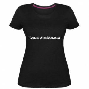 Women's premium t-shirt I'm Unpredictable - PrintSalon