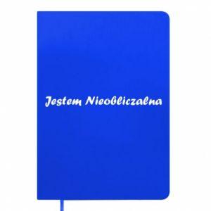Notepad I'm Unpredictable - PrintSalon