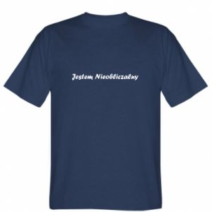 T-shirt I'm Unpredictable, for men - PrintSalon