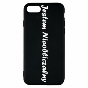 Phone case for iPhone 7 I'm Unpredictable, for men - PrintSalon