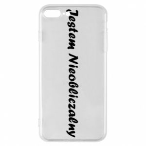 Phone case for iPhone 8 Plus I'm Unpredictable, for men - PrintSalon