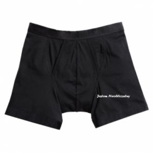 Boxer trunks I'm Unpredictable, for men - PrintSalon