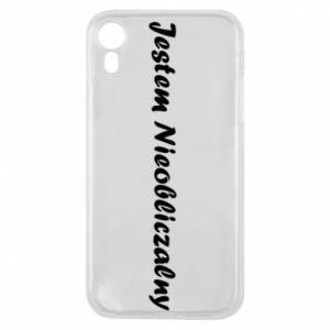 Phone case for iPhone XR I'm Unpredictable, for men - PrintSalon