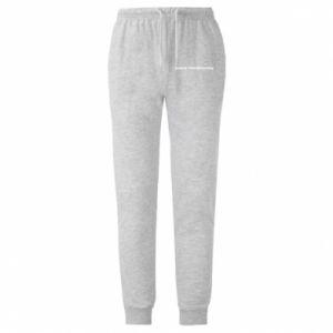 Męskie spodnie lekkie I'm Unpredictable, for men - PrintSalon