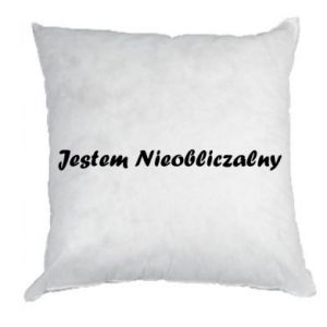 Pillow I'm Unpredictable, for men - PrintSalon