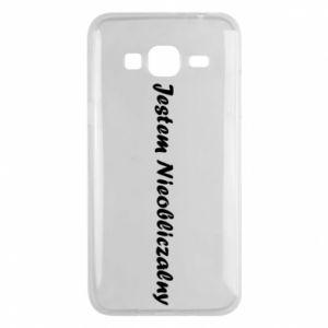 Phone case for Samsung J3 2016 I'm Unpredictable, for men - PrintSalon
