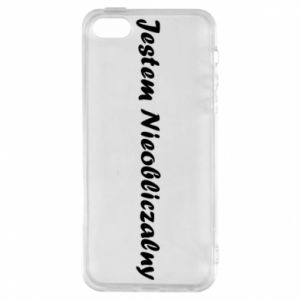 Phone case for iPhone 5/5S/SE I'm Unpredictable, for men - PrintSalon