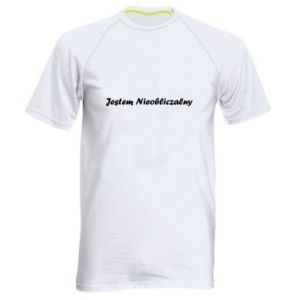 Men's sports t-shirt I'm Unpredictable, for men - PrintSalon
