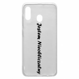 Phone case for Samsung A30 I'm Unpredictable, for men - PrintSalon