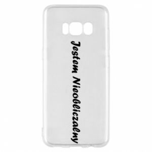 Phone case for Samsung S8 I'm Unpredictable, for men - PrintSalon