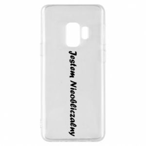 Phone case for Samsung S9 I'm Unpredictable, for men - PrintSalon