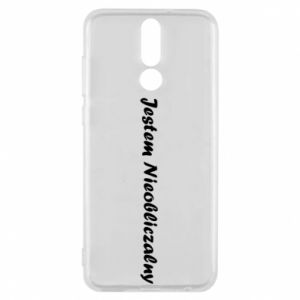 Phone case for Huawei Mate 10 Lite I'm Unpredictable, for men - PrintSalon