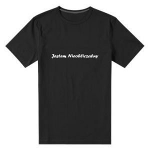 Men's premium t-shirt I'm Unpredictable, for men - PrintSalon