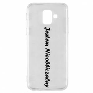Phone case for Samsung A6 2018 I'm Unpredictable, for men - PrintSalon