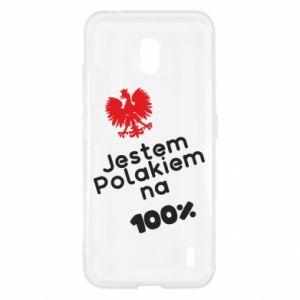 Etui na Nokia 2.2 Jestem Polakiem na 100%