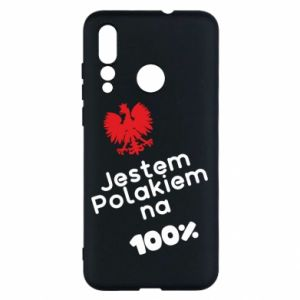 Etui na Huawei Nova 4 Jestem Polakiem na 100%