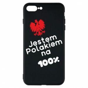 Phone case for iPhone 7 Plus I'm Polish for 100% - PrintSalon