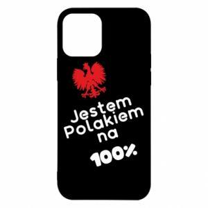 Etui na iPhone 12/12 Pro Jestem Polakiem na 100%