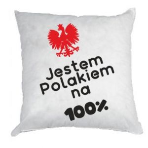 Pillow I'm Polish for 100%