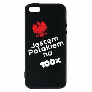 Phone case for iPhone 5/5S/SE I'm Polish for 100% - PrintSalon