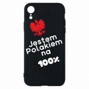 Phone case for iPhone XR I'm Polish for 100% - PrintSalon