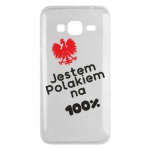 Phone case for Samsung J3 2016 I'm Polish for 100% - PrintSalon