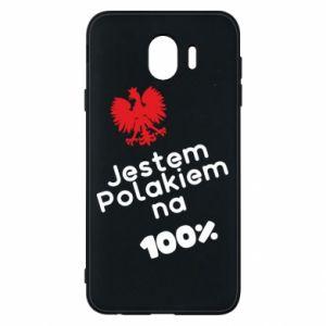 Phone case for Samsung J4 I'm Polish for 100% - PrintSalon