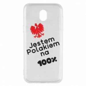 Phone case for Samsung J5 2017 I'm Polish for 100% - PrintSalon