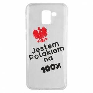 Phone case for Samsung J6 I'm Polish for 100% - PrintSalon