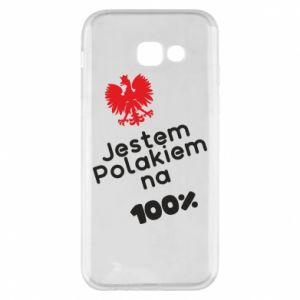Phone case for Samsung A5 2017 I'm Polish for 100% - PrintSalon