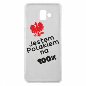 Phone case for Samsung J6 Plus 2018 I'm Polish for 100% - PrintSalon