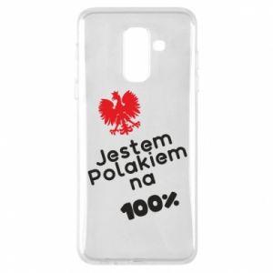 Phone case for Samsung A6+ 2018 I'm Polish for 100% - PrintSalon