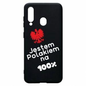 Phone case for Samsung A60 I'm Polish for 100% - PrintSalon