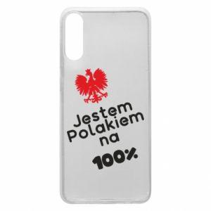 Phone case for Samsung A70 I'm Polish for 100% - PrintSalon