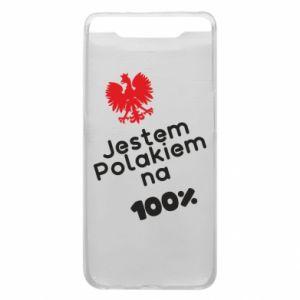 Phone case for Samsung A80 I'm Polish for 100% - PrintSalon