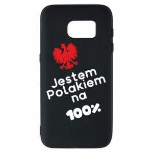 Phone case for Samsung S7 I'm Polish for 100% - PrintSalon