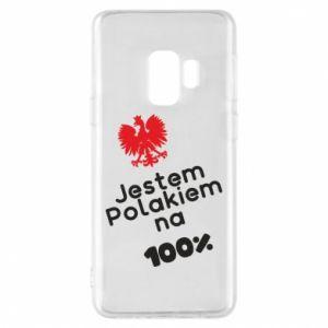 Phone case for Samsung S9 I'm Polish for 100% - PrintSalon