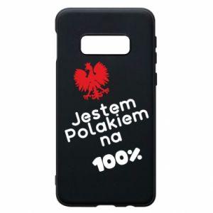 Phone case for Samsung S10e I'm Polish for 100% - PrintSalon