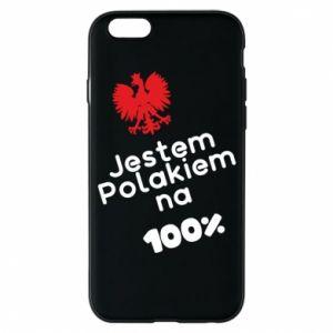 Phone case for iPhone 6/6S I'm Polish for 100% - PrintSalon