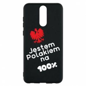 Phone case for Huawei Mate 10 Lite I'm Polish for 100% - PrintSalon