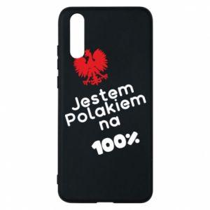 Phone case for Huawei P20 I'm Polish for 100% - PrintSalon