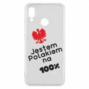 Phone case for Huawei P20 Lite I'm Polish for 100% - PrintSalon