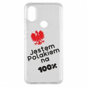 Phone case for Xiaomi Mi A2 I'm Polish for 100% - PrintSalon